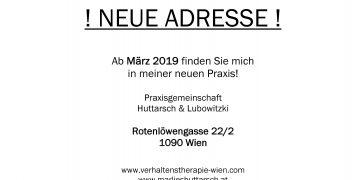 Achtung – ab März neue Adresse!